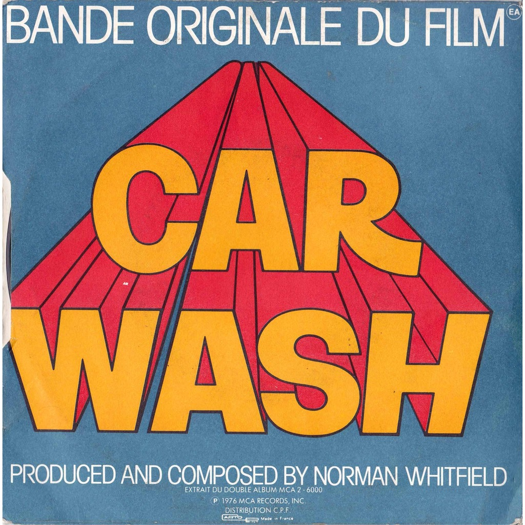 Rose Royce Car Wash Put Your Money Where Your Mouth Is 7inch Sp