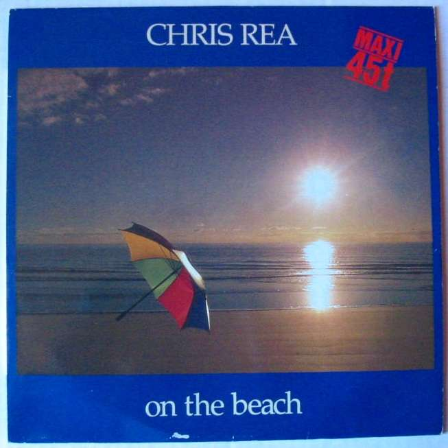 On The Beach By Chris Rea 12inch With Luckystar Ref