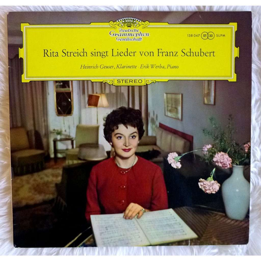 Singt Lieder Von Franz Schubert Original Dgg Red Tulips