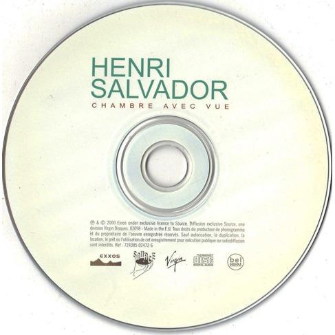 Chambre avec vue de henri salvador cd chez longplay ref - Henri salvador chambre avec vue ...