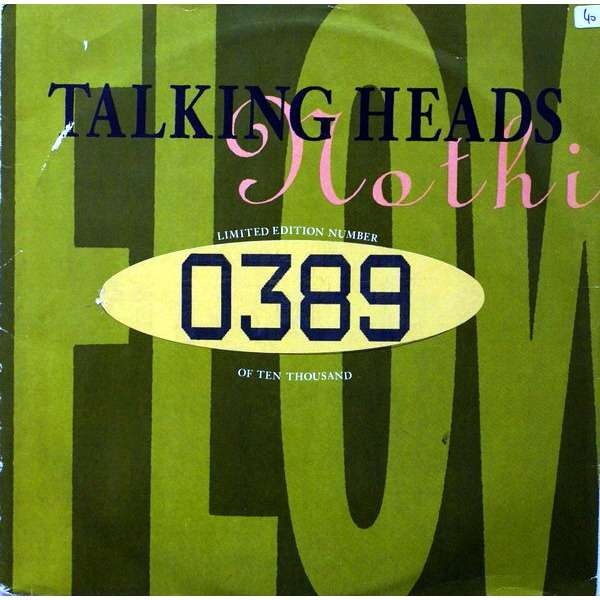 Talking Heads (Nothing But) Flowers n°0389