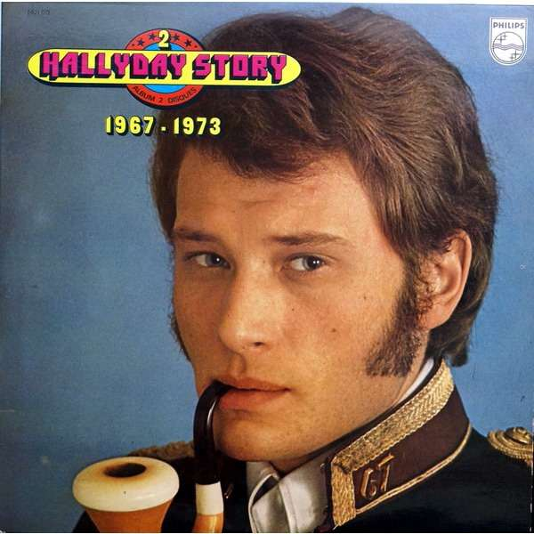 Hallyday Story 2 1967 1973 By Johnny Hallyday Double Lp