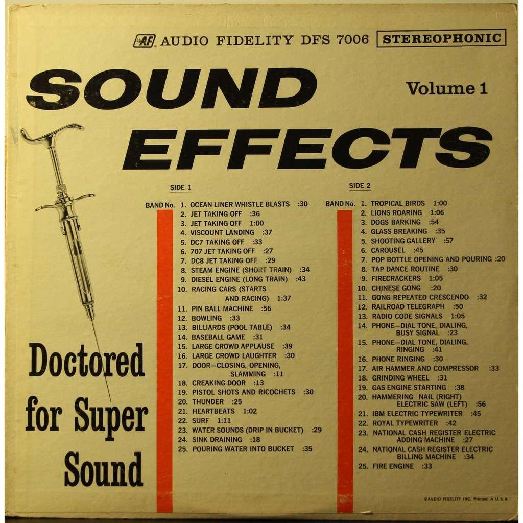 sound effects sound effects volume 1