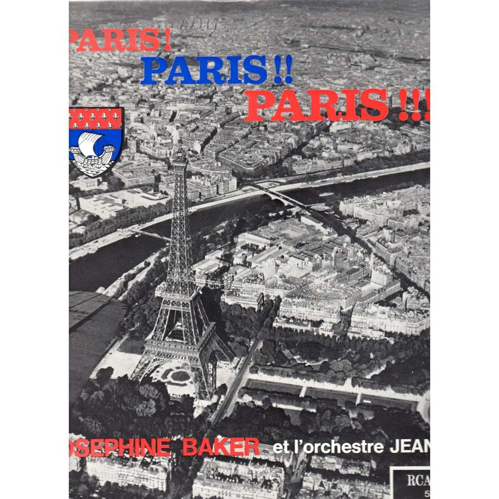 Paris paris paris by josephine baker lp with prenaud for Josephine baker paris