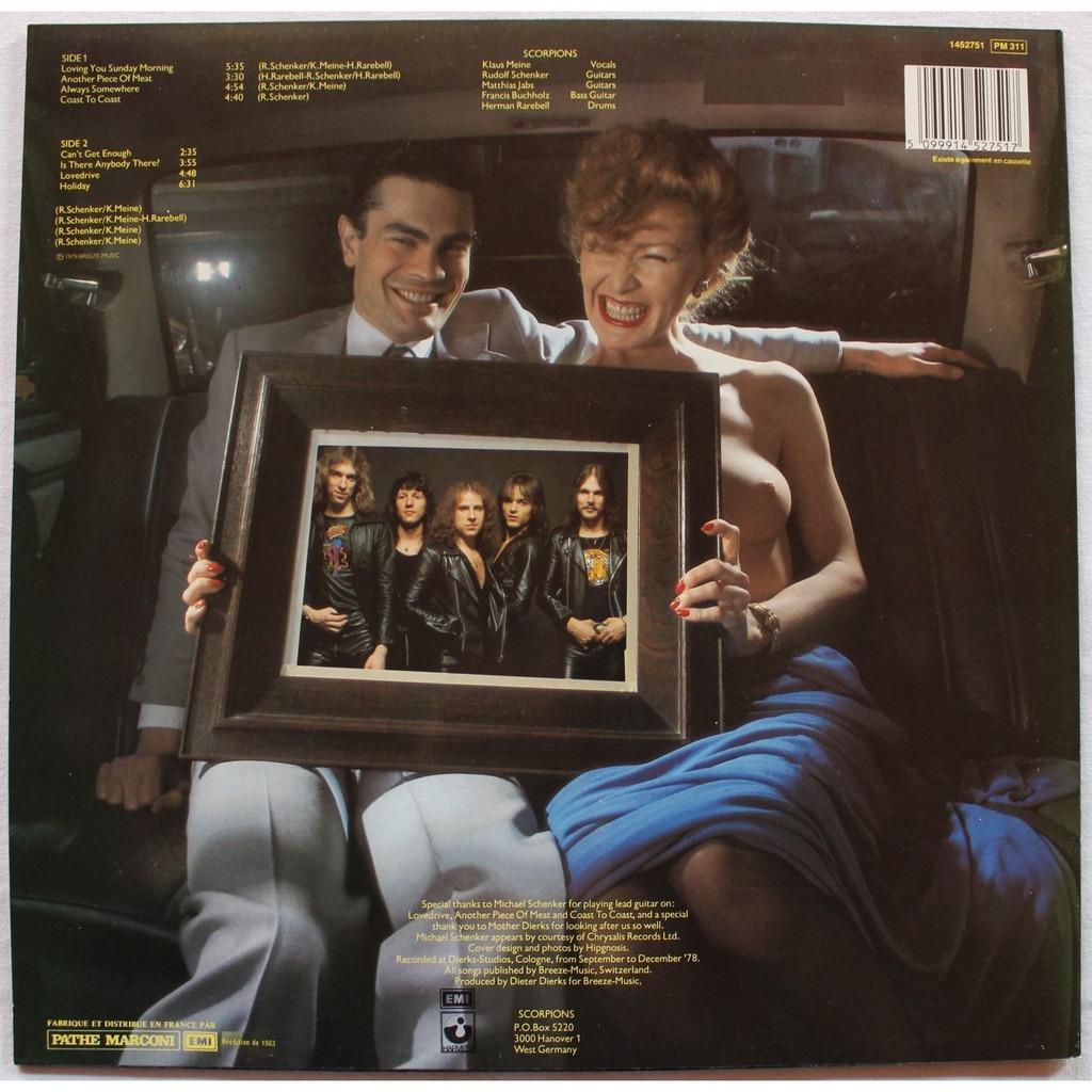 Lovedrive By Scorpions Lp With Rocknrollbazar Ref 115875527