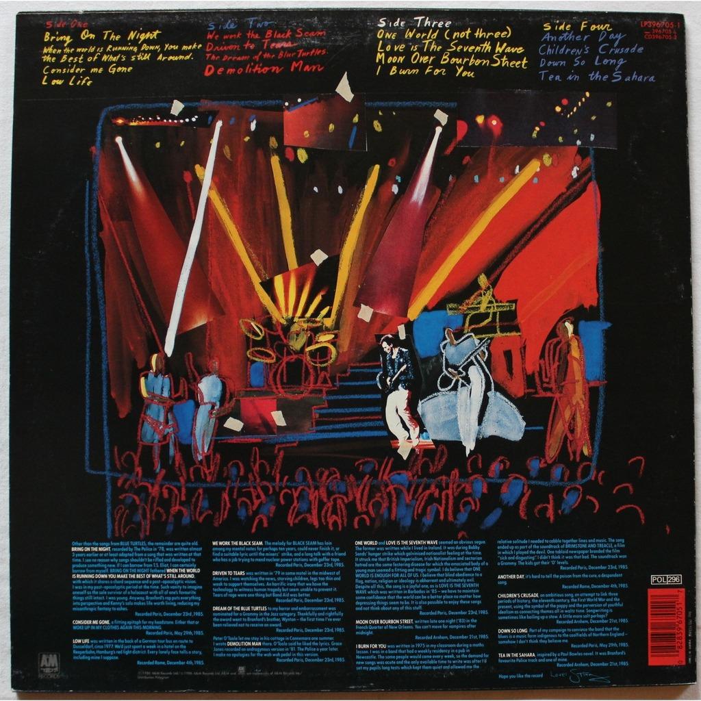 Bring On The Night By Sting Lp X 2 With Rocknrollbazar