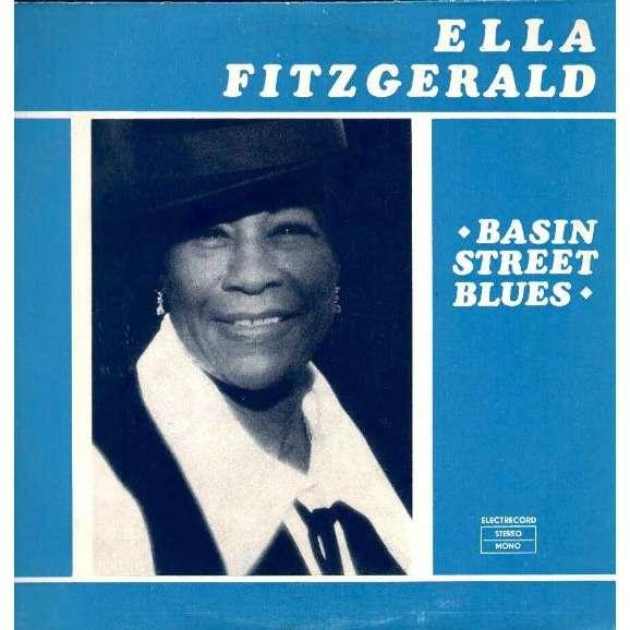 Ella Fitzgerald Basin Street Blues Records Lps Vinyl And