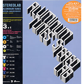 STEREOLAB Aluminum Tunes (BOX SET WITH 4 RECORDS AND TEE-SHIRT)