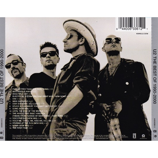 The Best Of 1990 2000 By U2 Cd With Allaboutvinylplus