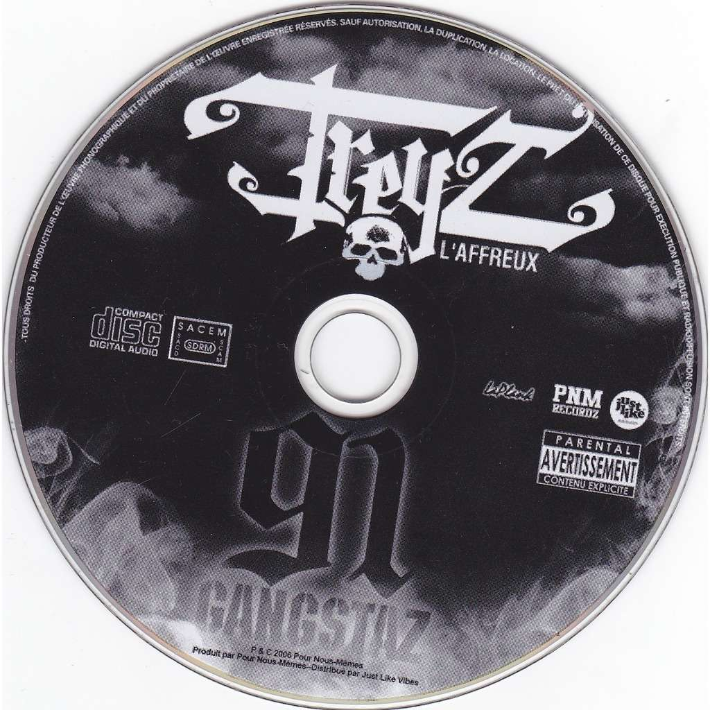 TREZ L'AFFREUX 91 Gangstaz