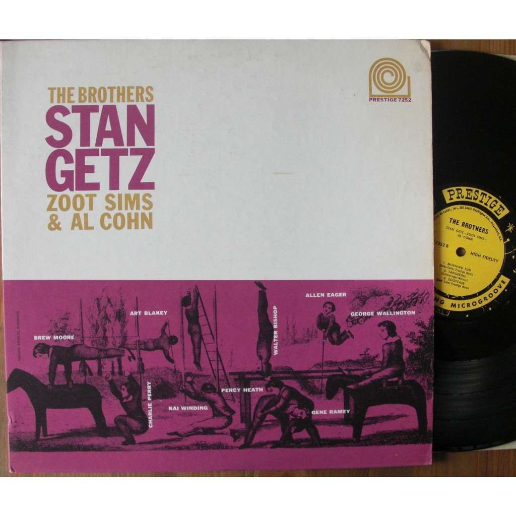 Stan Getz Zoot Sims & Al Cohn The Brothers