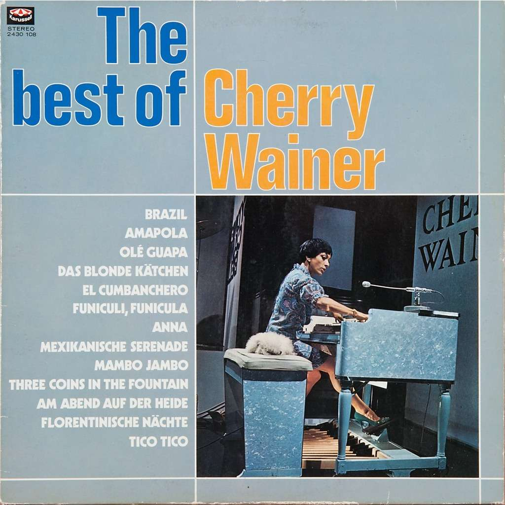 The Best Of By Cherry Wainer Lp With Rabbitrecords Ref