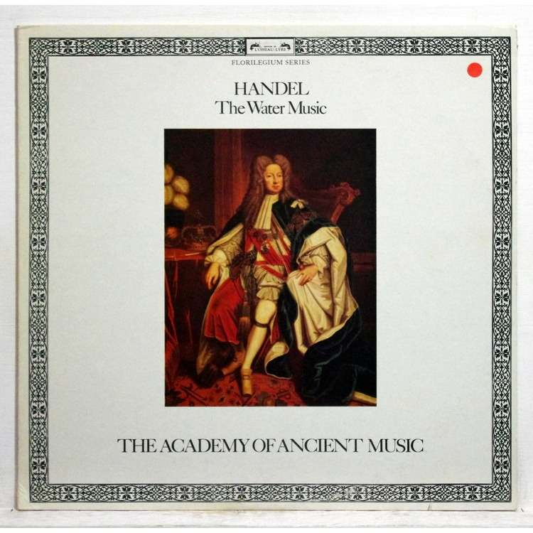Handel : the water music by Christopher Hogwood, LP with ...