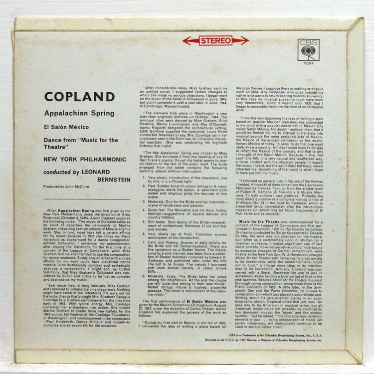 el salon mexico copland analysis Program notes by jennifer delapp copland for chorus aaron copland's music for chorus reveals his stylistic range, from accessible to challenging, simple to grand el salon mexico is one of the first works in copland's so-called populist style.