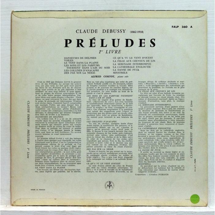 Preludes, Book 1: No. 3. Le vent dans la plaine