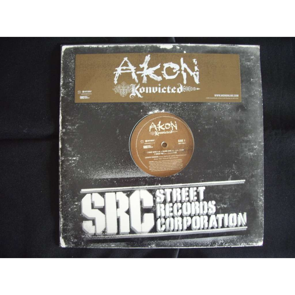 Konvicted by Akon, LP x 2 with dj-kurt - Ref:115886854