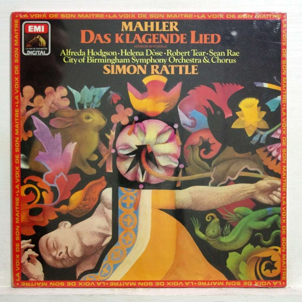 Mahler Das Klagende Lied By Alfreda Hodgson Simon