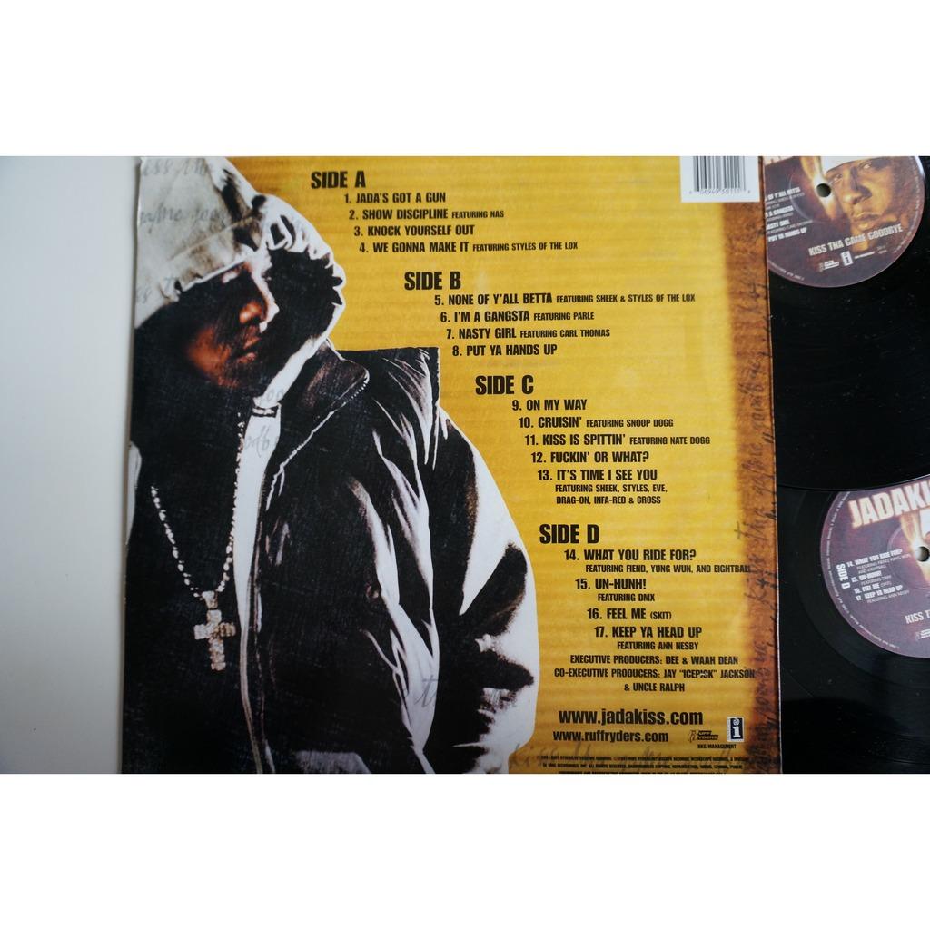 Kiss tha game goodbye by Jadakiss, LP x 2 with wax4ever