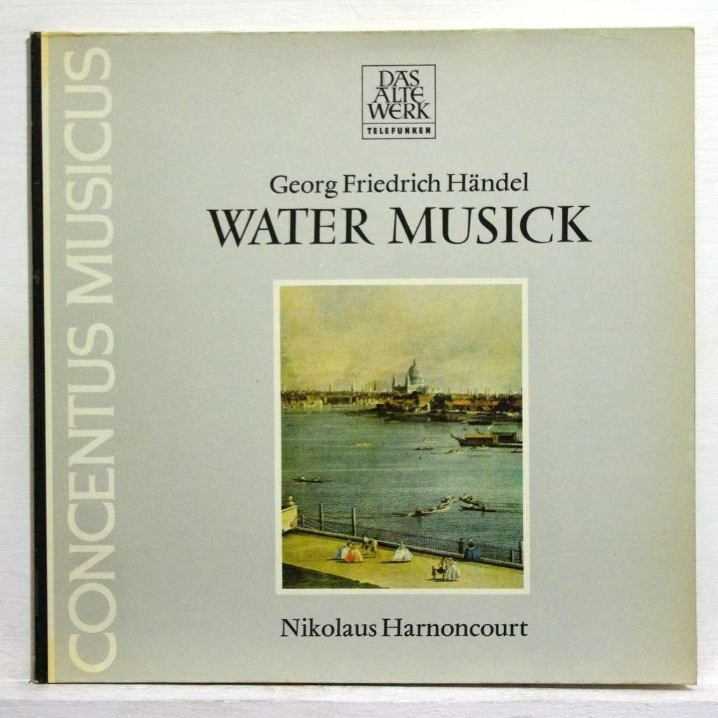 Handel water music by Nikolaus Harnoncourt, LP + bonus with ...