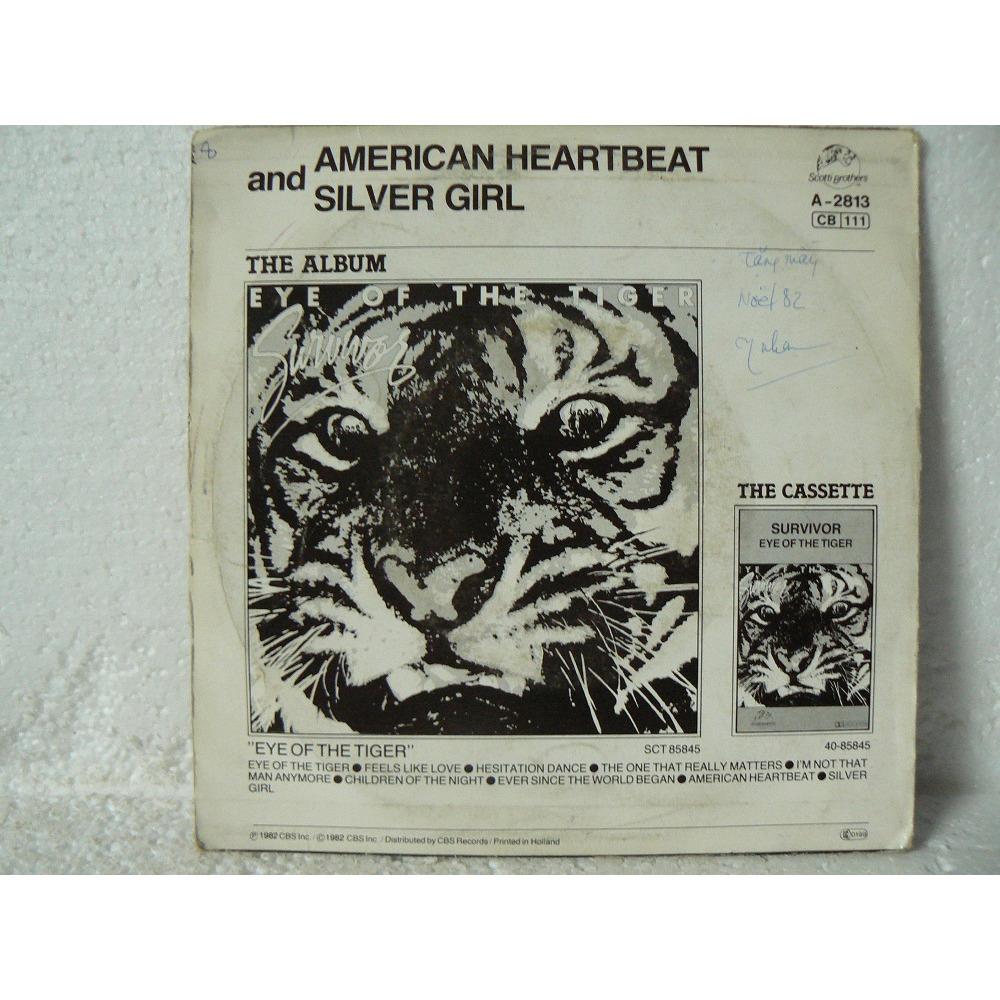 SURVIVOR AMERICAN HEARTBEAT  et  SILVER GIRL