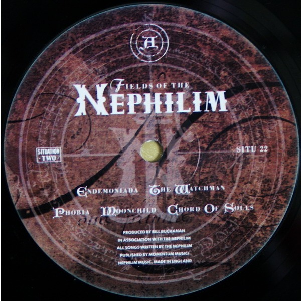 The Nephilim By Fields Of The Nephilim Lp With Vodkalva