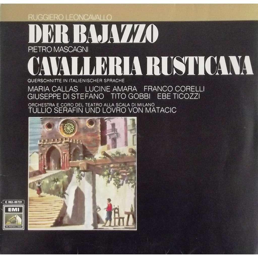 Cavalleria Rusticana Pietro Mascagni Der Bajazzo
