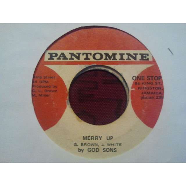 THE SHALIMARS (RICHIE McDONALD) / G.BROWN J.WHITE 'YOUTH OF TODAY / MERRY UP' ORIG.