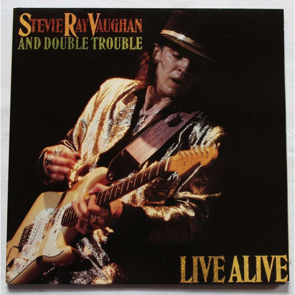 Live Alive By Stevie Ray Vaughan Amp Double Trouble Double