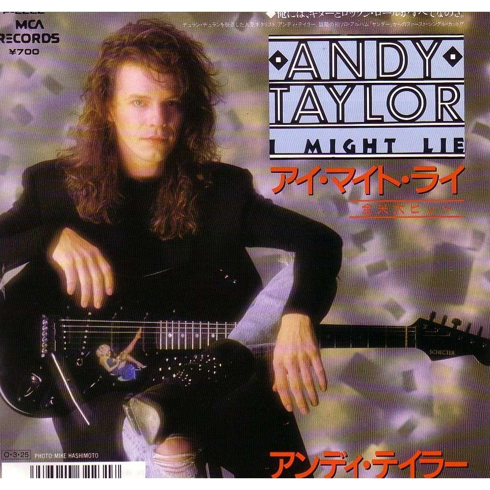 I Might Lie By Andy Taylor Duran Duran Sp With