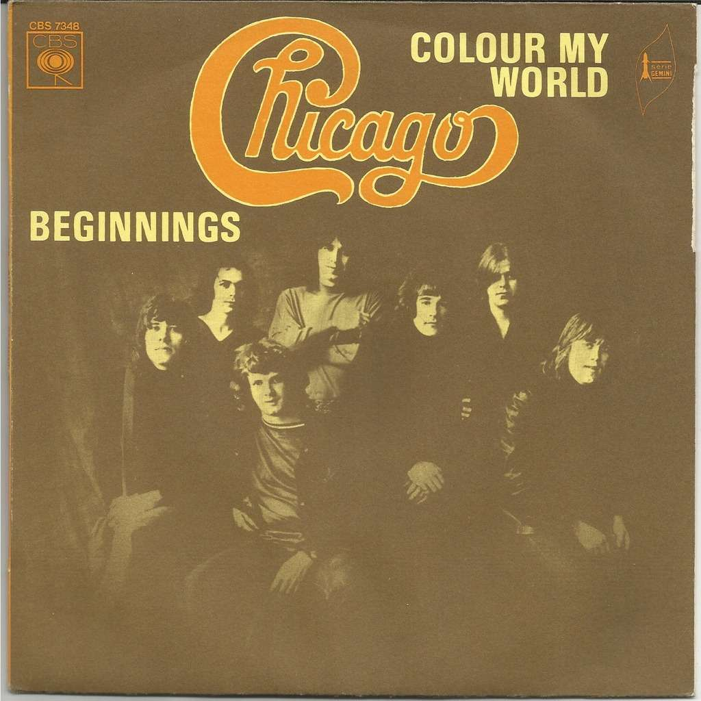 Colour My World Beginnings By Chicago Sp With