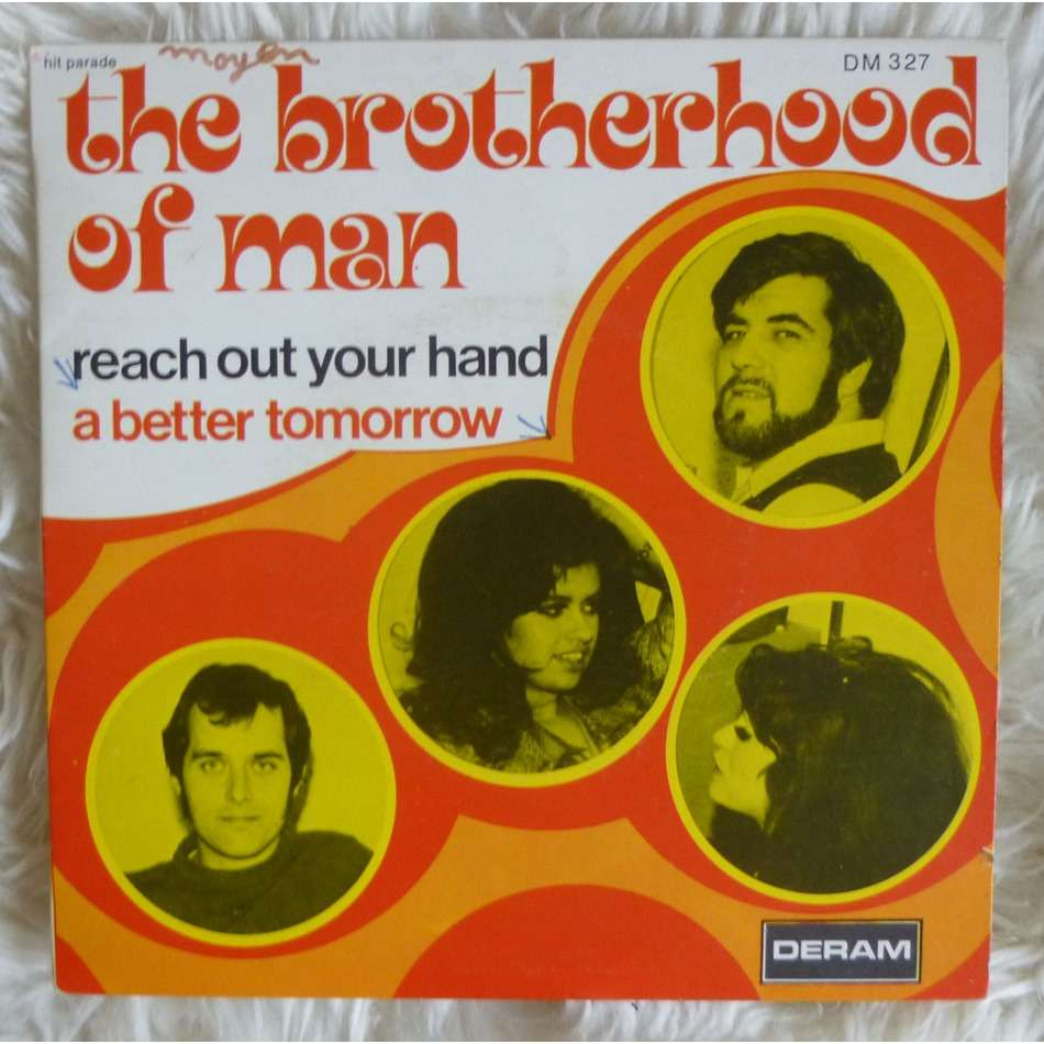 THE BROTHERHOOD OF MAN REACH OUT YOUR HAND - A better tomorrow ( Norther Soul classic - rare french PS )