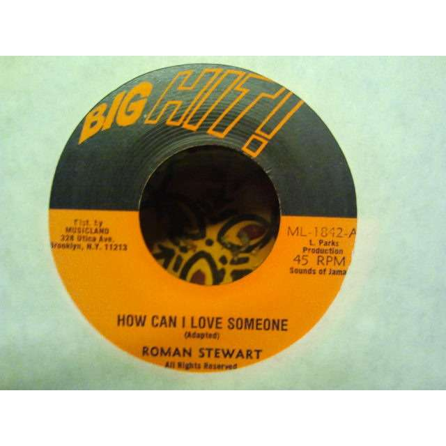 ROMAN STEWART 'HOW CAN I LOVE SOMEONE' ORIG.