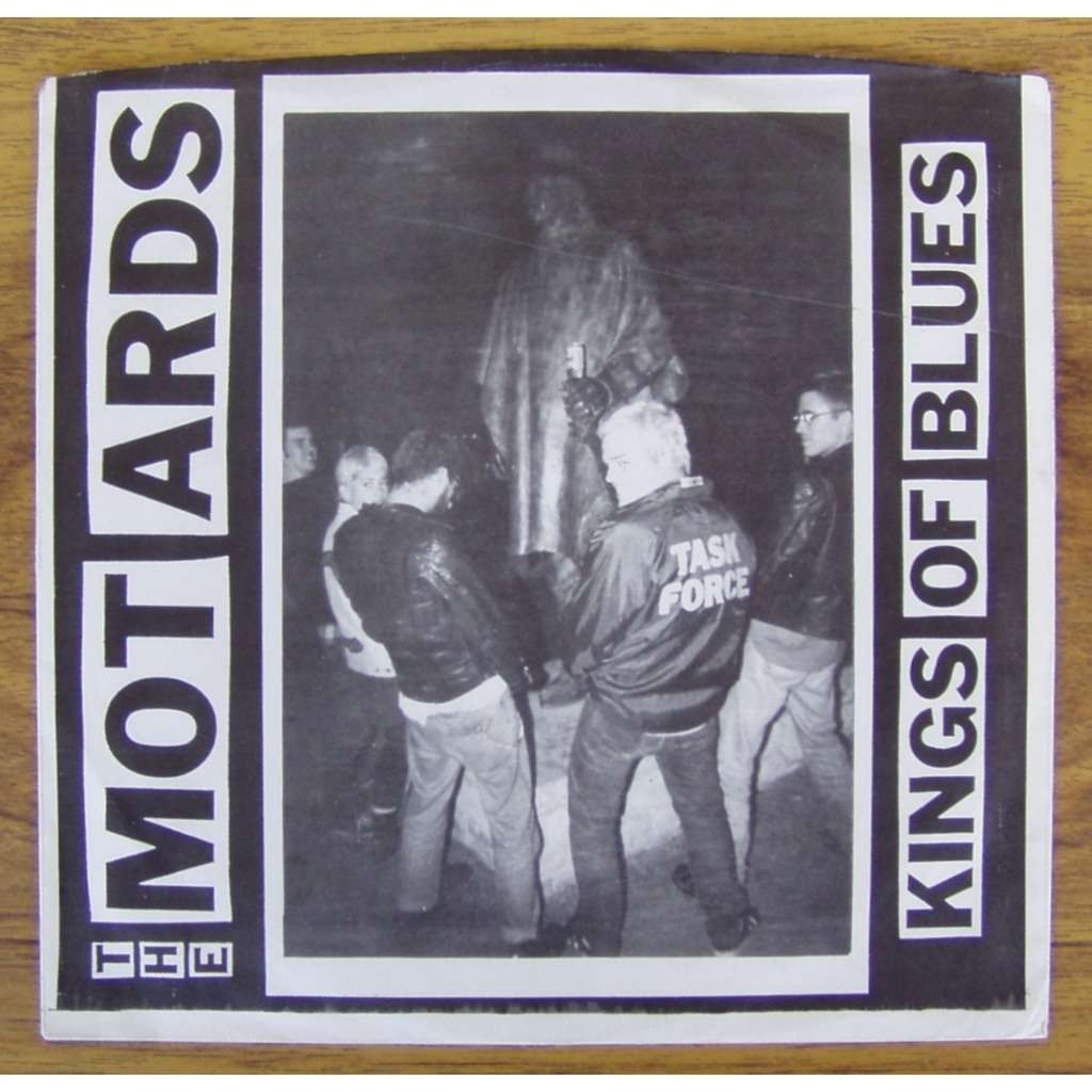 motards KINGS OF BLUES / TUERIE PUNK ROCK STYLE MOTORHEAD / 100 COPIES ENVIRON