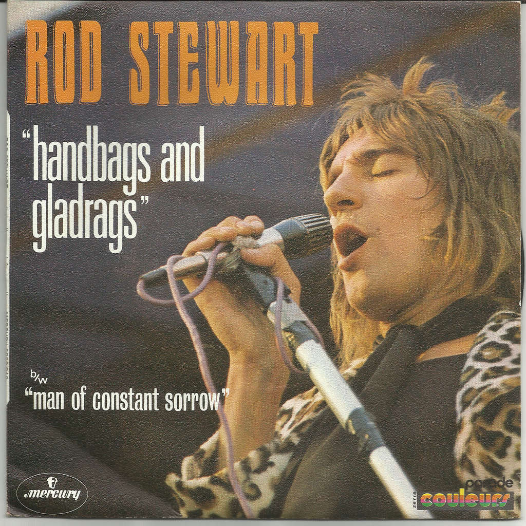 Image result for handbags and gladrags rod stewart images
