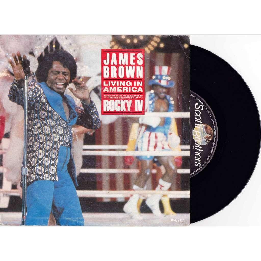 James Brown / Vince DiCola Living In America / Farewell ( bo film rocky IV 4)