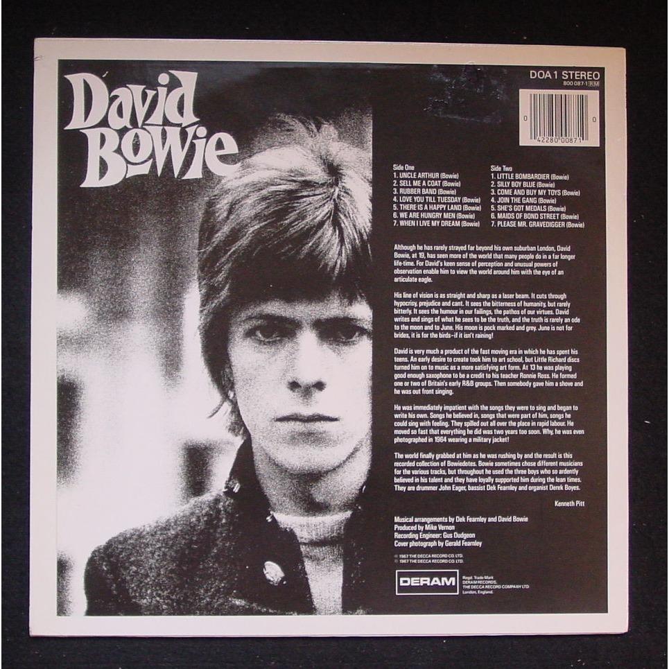 David Bowie Same (First album)