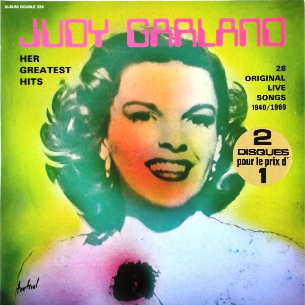 Her greatest hits by Judy Garland, LP x 2 with vinyl59 - Ref:115910859