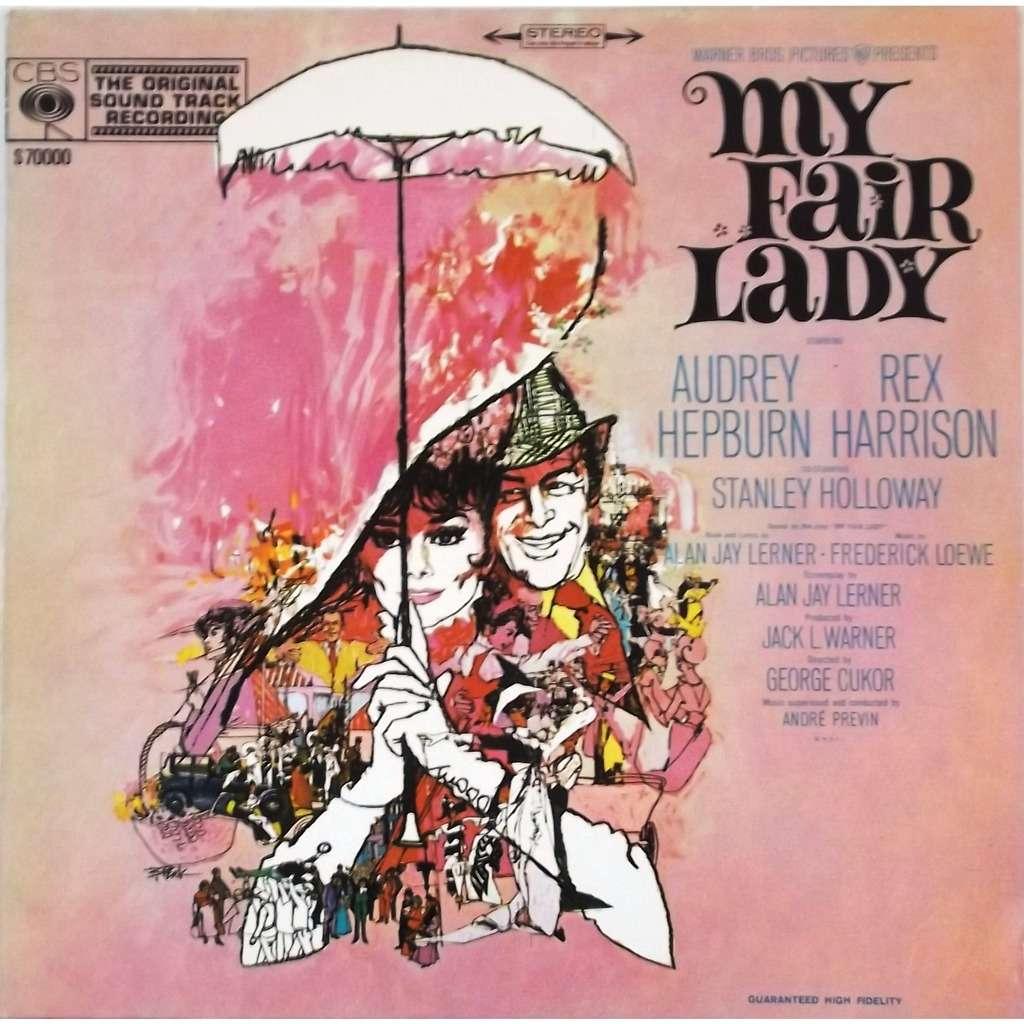 audrey hepburn, rex harrison, stanley holloway my fair lady