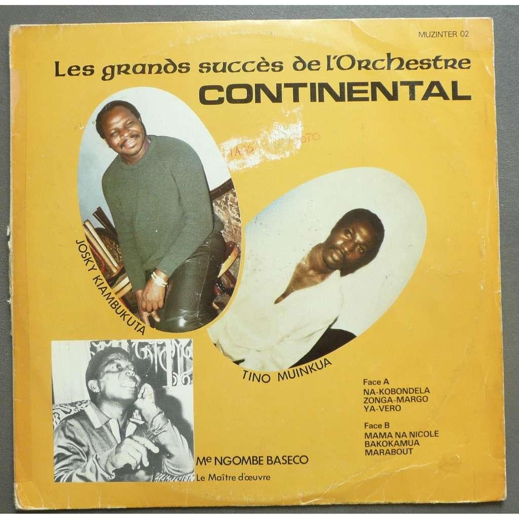 Josky Kiambukuta / Tino Muinkua / Me Ngomb Baseco les grands succes de l'orchestre continental