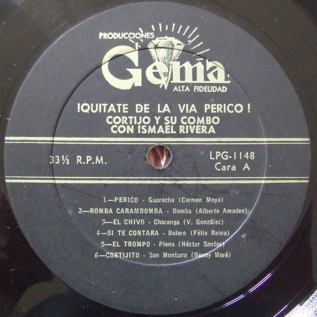 Cortijo Y Su Combo Con Ismael Rivera Lo Ultimo Y Lo Mejor