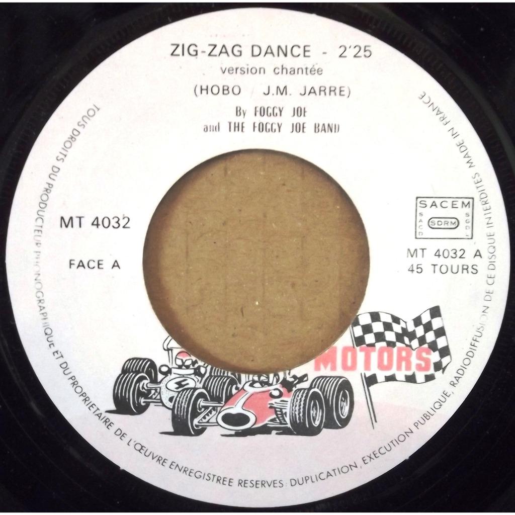 foggy joe, jean michel jarre zig zag dance / version instrumentale