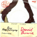 DAVID BOWIE - Boys keep swinging/Fantastic voyage - 45T (SP 2 titres)