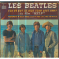 THE BEATLES - YOU'VE GOT TO HIDE YOUR LOVE AWAY/YESTERDAY/DIZZY MISS LIZZY/YOU LIKE ME TOO MUCH - 45T (EP 4 titres)