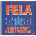 FELA KUTI - BEASTS OF NO NATION (EDITED) / Just Like That (EDITED) - 45T (SP 2 titres)
