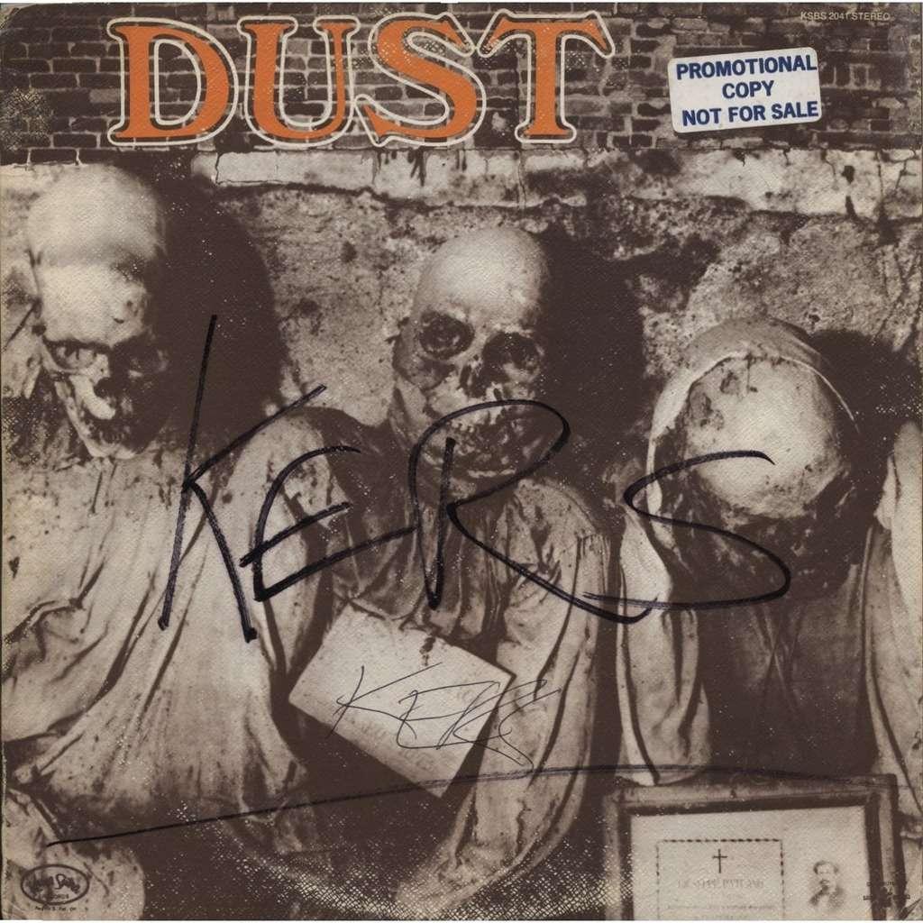 DUST (+ Marc Bell / Marky Ramone RAMONES ) Dust ( S/T same - first - 1st 1er LP) ORIGINAL PROMO