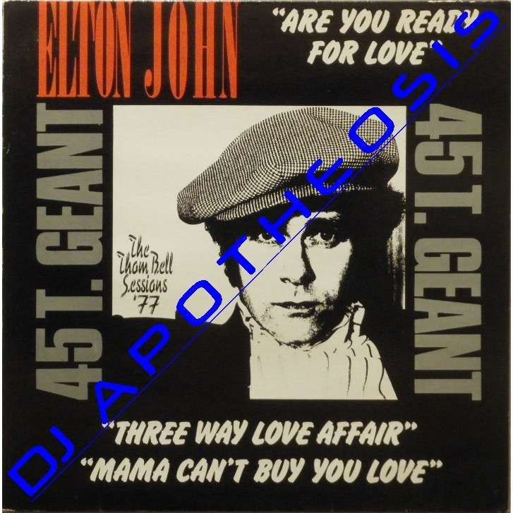 ELTON JOHN Are you ready for love?