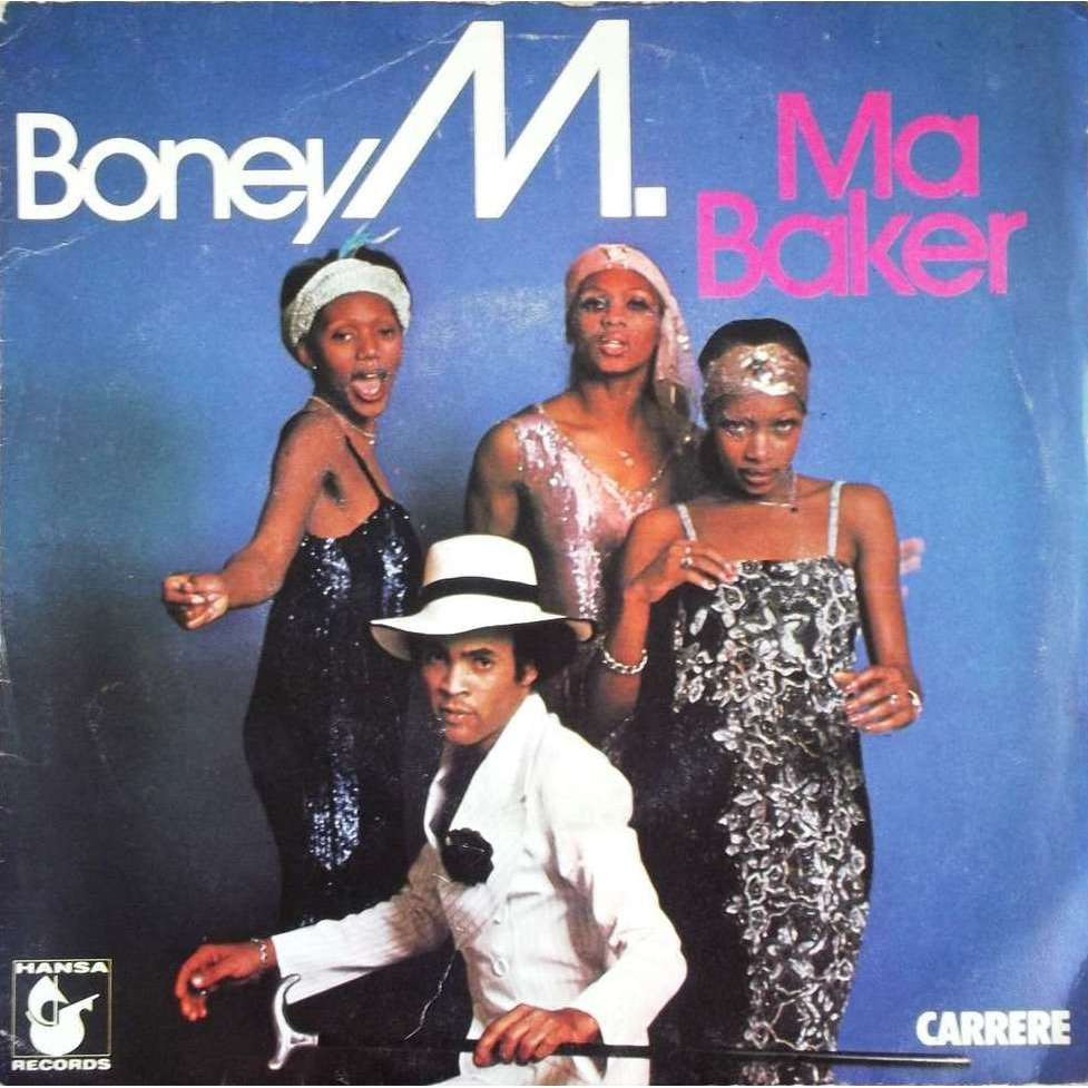 Ma Baker A Woman Can Change A Man By Boney M Sp With