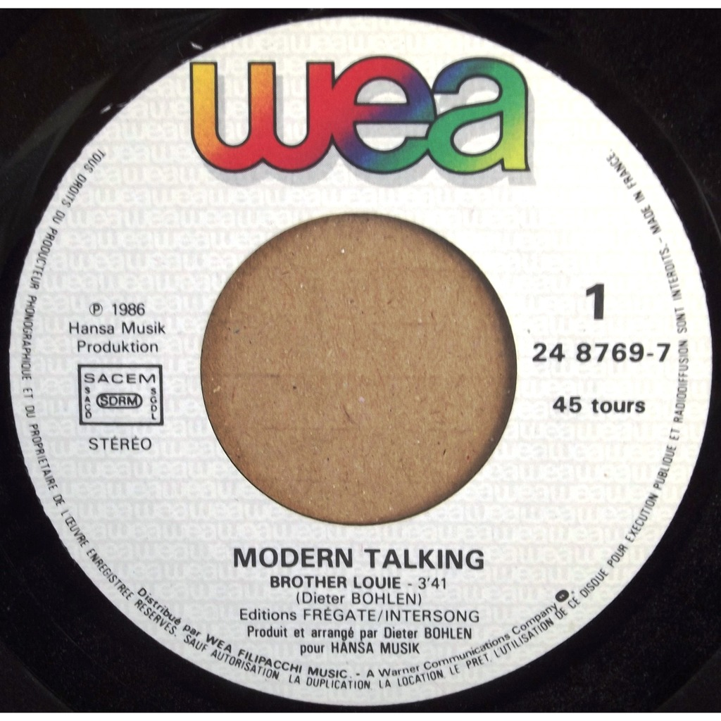 Modern Talking Brother Louie 2014 Modern Talking Brother
