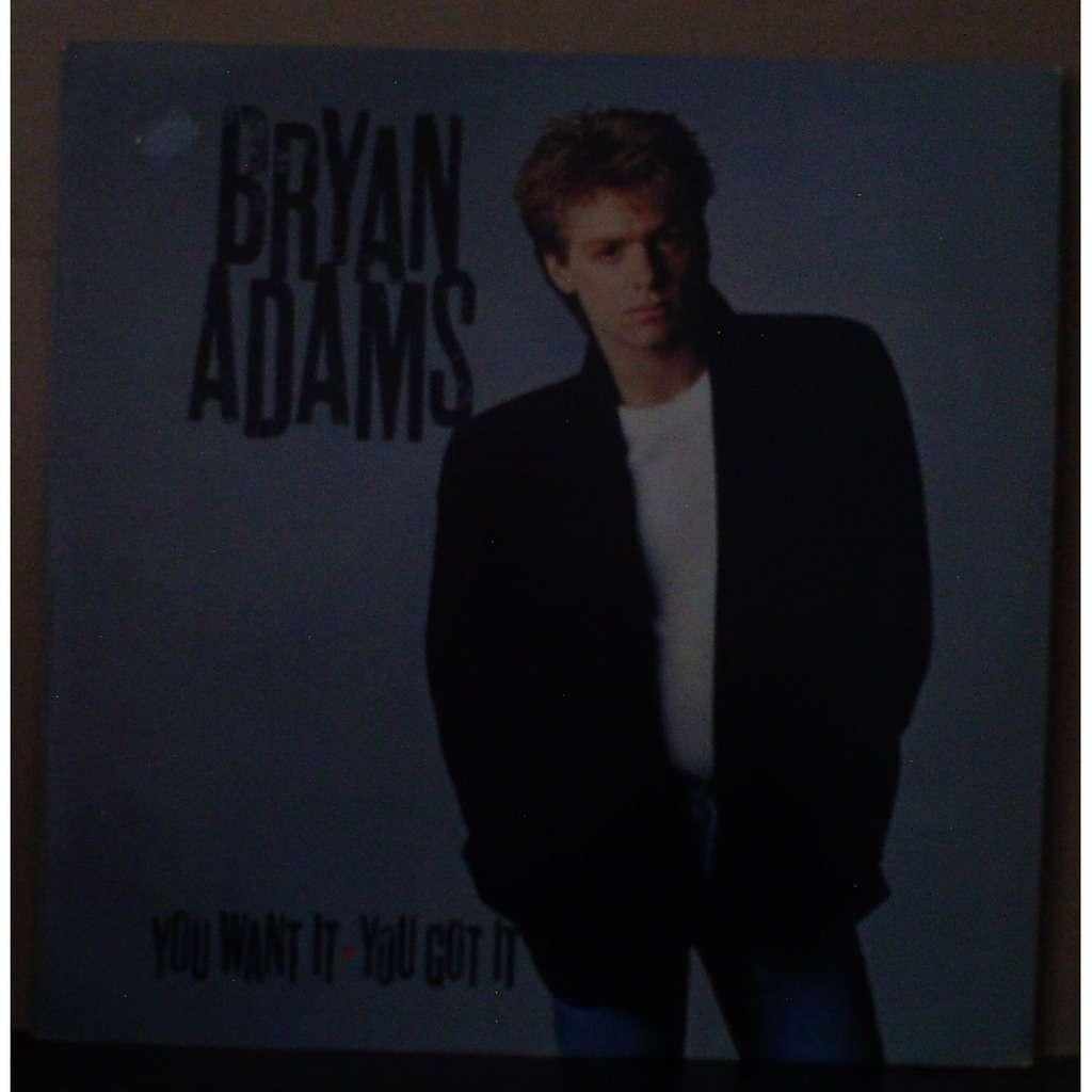 you want it you got it bryan adams lp 売り手