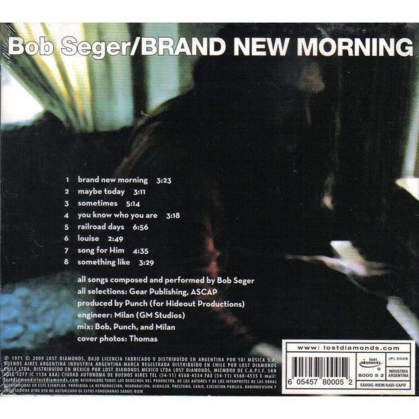 brand new morning by bob seger cd with ald93 ref 115924066. Black Bedroom Furniture Sets. Home Design Ideas